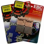 SPEED TRIPLE 1050 2008-11 [Brembo Caliper] EBC Front Brake Pads [2 Pairs FA-322/4-HH]